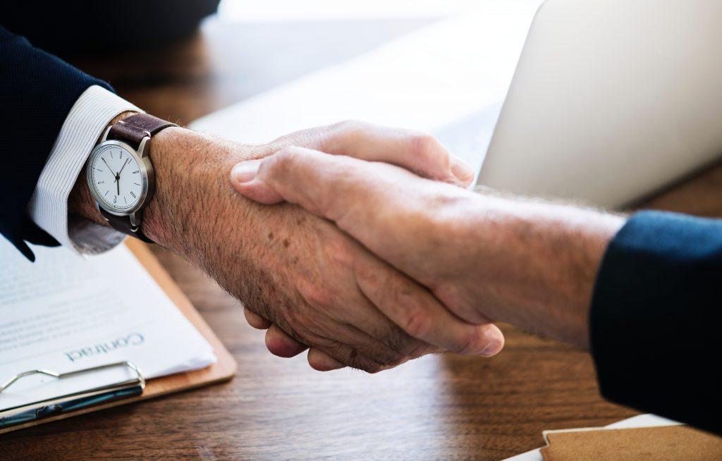 Agreement - handshake - business deal